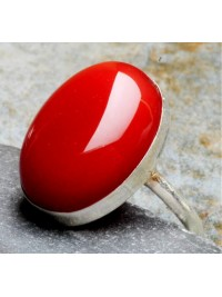 Anel Red Stone