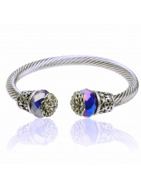 Bracelete Blue Arabesco
