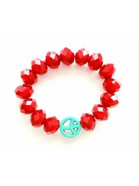 Pulseira Red Peace